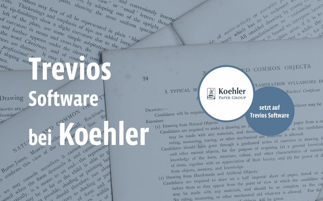 Ideenmanagement der Papierfabrik August Koehler SE – BVW und Innovationsmanagement Software Trevios