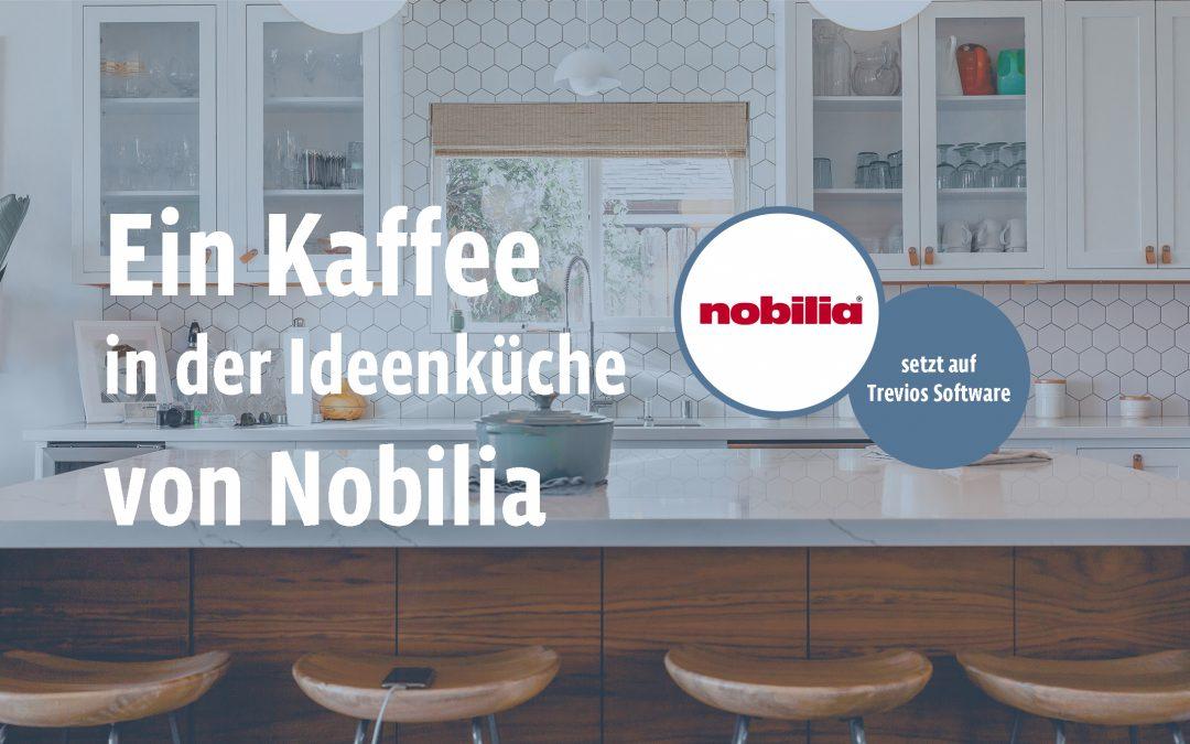 Auf einen Kaffee in der nobilia Ideenküche