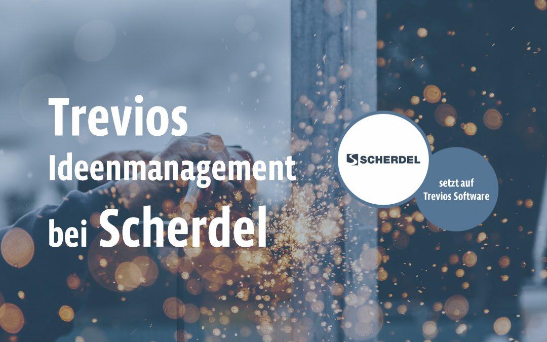 Scherdel – Ideenmanagement federleicht mit Trevios.